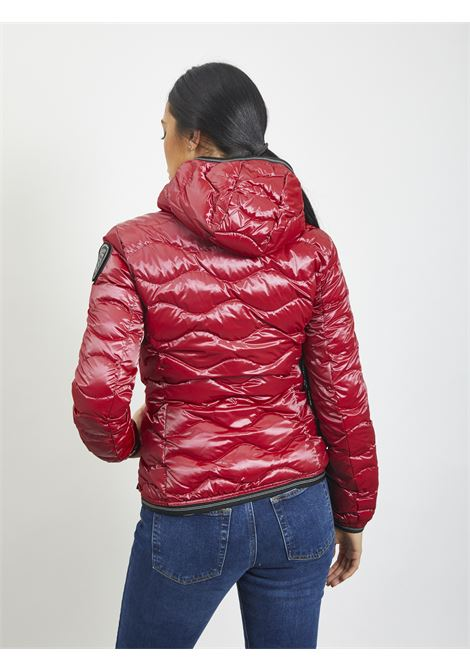 Wave quilt BLAUER | Quilted Jacket | 20WBLDC03107 568ROSSO