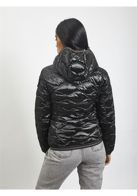 Wave quilt BLAUER | Quilted Jacket | 20WBLDC03107 999NERO