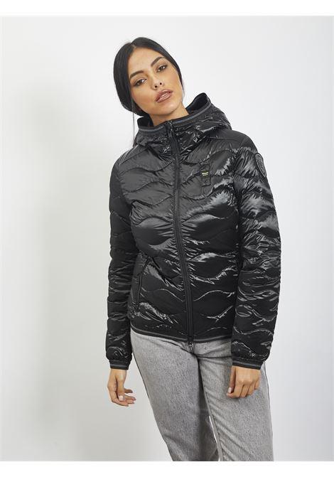 Wave quilt BLAUER | Quilted Jacket | 20WBLDC03107 999NERO