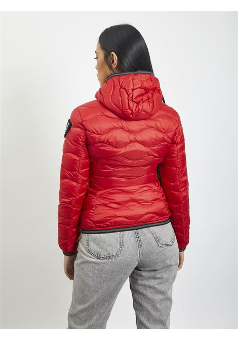 Wave quilt BLAUER | Quilted Jacket | 20WBLDC03569 552ROSSO