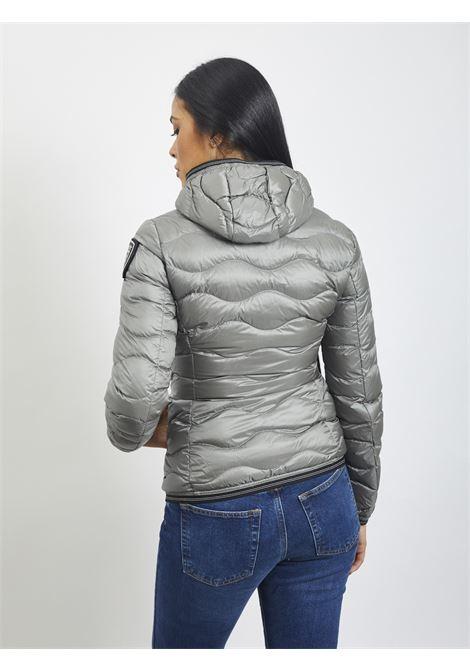 Wave quilt BLAUER | Quilted Jacket | 20WBLDC03569 934GRIGIO