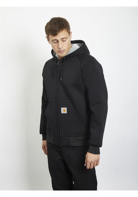 Car-Lux Hooded Jacket CARHARTT | Hoodies | I018044NERO
