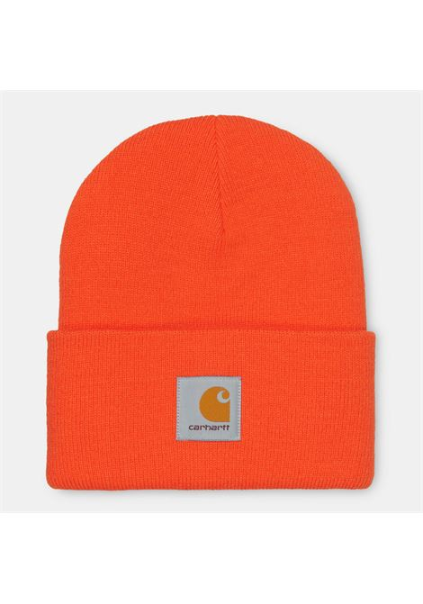 ACRYLIC WATCH HAT CARHARTT | Hats | I020222ARANCIONE