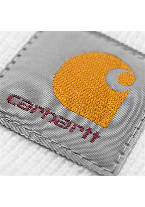 ACRYLIC WATCH HAT CARHARTT | Hats | I020222BIANCO
