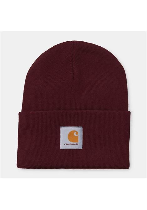 ACRYLIC WATCH HAT CARHARTT | Hats | I020222BORDEAUX