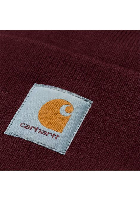 ACRYLIC WATCH HAT CARHARTT | Cappelli | I020222BORDEAUX