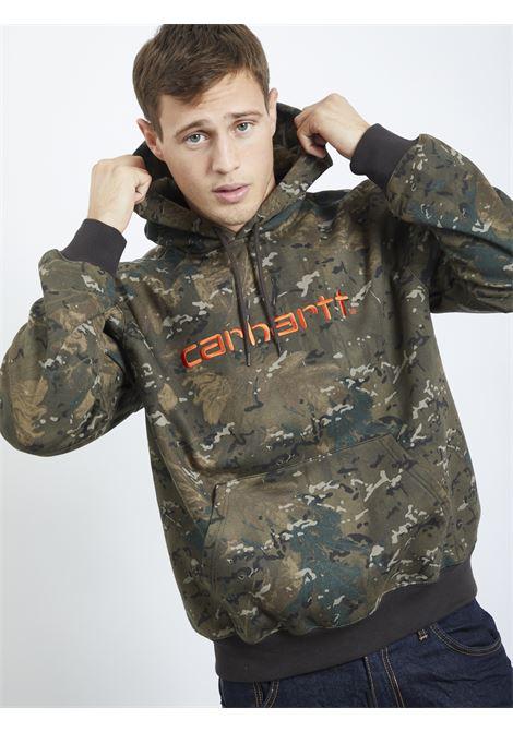 sweatshirt CARHARTT | Hoodies | I027093CAMOUFLAGE