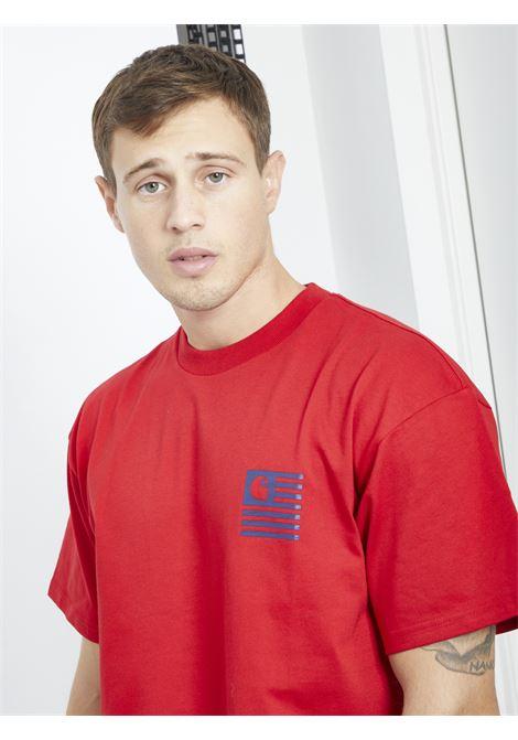 CARHARTT | T-shirt | I028434ROSSO