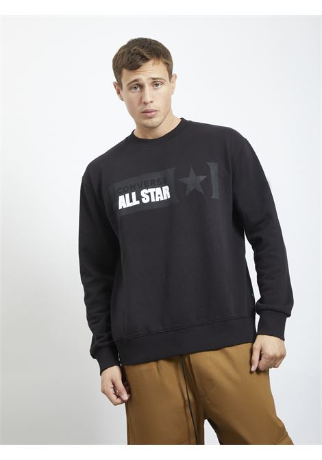 Sweater CONVERSE | Hoodies | 10021319NERO
