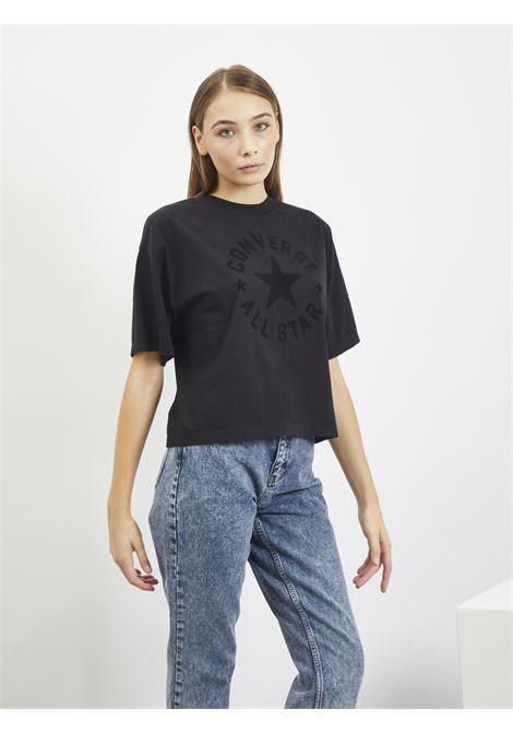 T-SHIRT CONVERSE | T-shirt | 10021337NERO