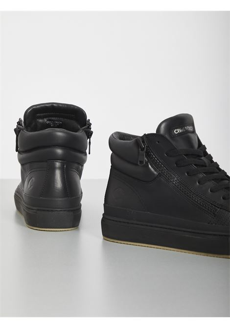 HIGH TOP DOUBLE ZIP CRIME | Sneakers | 11688NERO