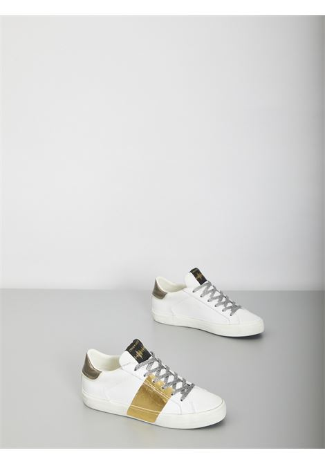 low top distressed CRIME | Sneakers | 25005BIANCO