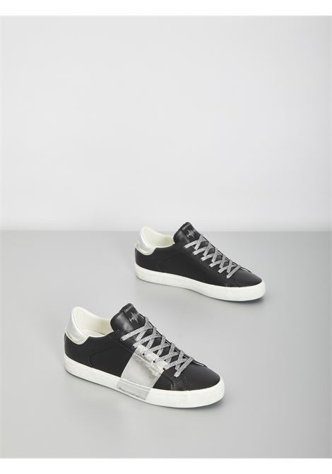 low top distressed CRIME | Sneakers | 25006NERO