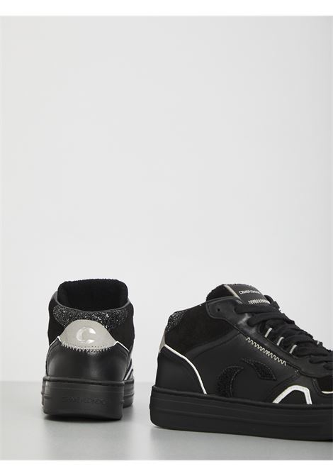 High top off court CRIME | Sneakers | 25130NERO