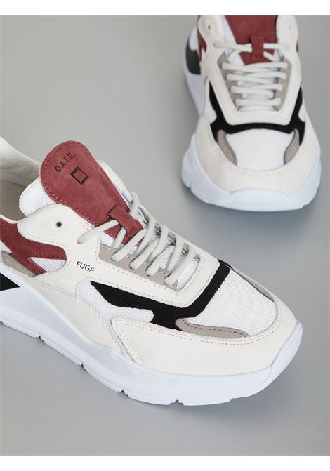 DATE | Sneakers | M331-FG-ME-WHBIANCO