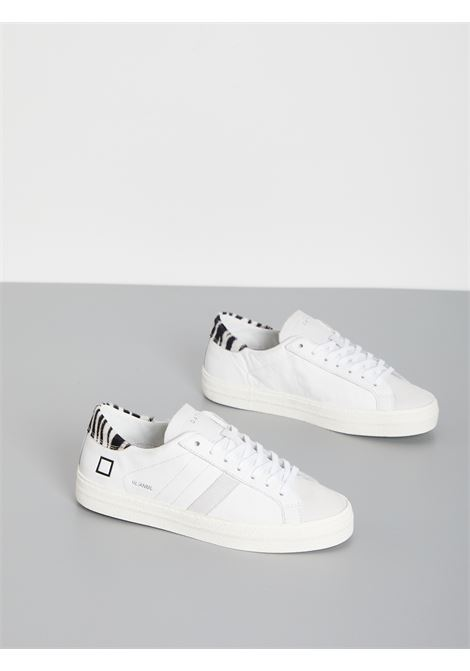 HILL LOW ANIMALIER DATE | Sneakers | W331-HL-AN-WZBIANCO