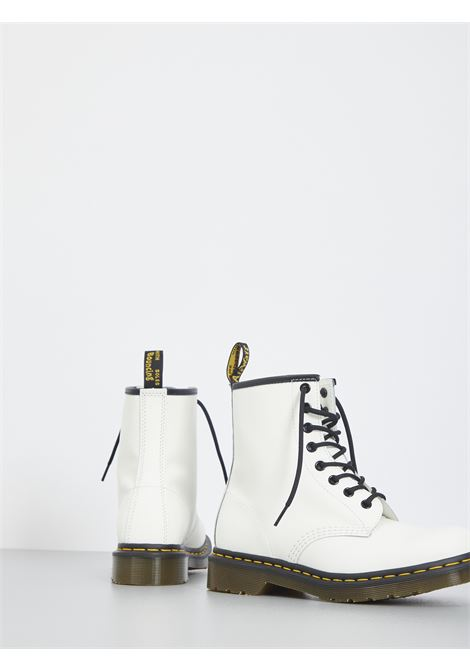 1460 SMOOTH DR MARTENS | Combat Boot | DMS1460WHSMZ11822100BIANCO