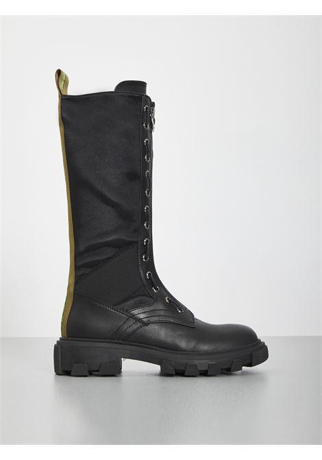GAELLE | Combat Boot | GBDA1802NERO
