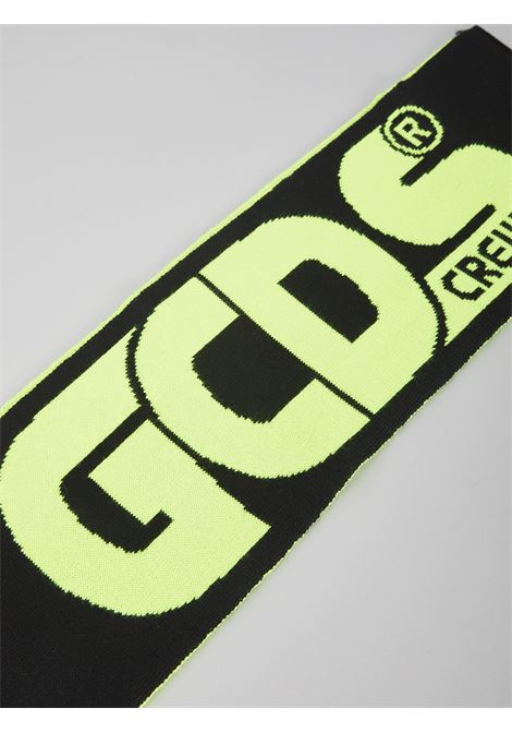 GCDS | Scarf | 025805NERO