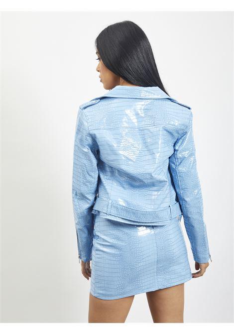 Leather Jacket GLAMOROUS | Jacket | RL0522ACELESTE