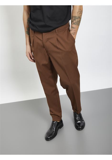 I'M BRIAN | Trousers | PA1501MARRONE