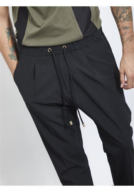Pants con laccetto I'M BRIAN | Pantaloni | PA1505NERO