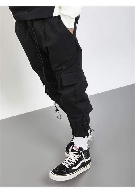 PANTS CARGO INSANITY | Pantaloni | INSA 164NERO
