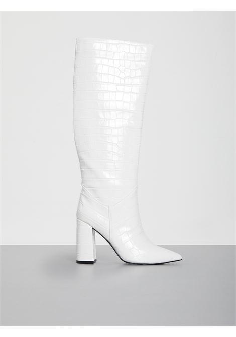 siren croc JEFFREY CAMPBELL | Boots | JCS9918BN210BIANCO
