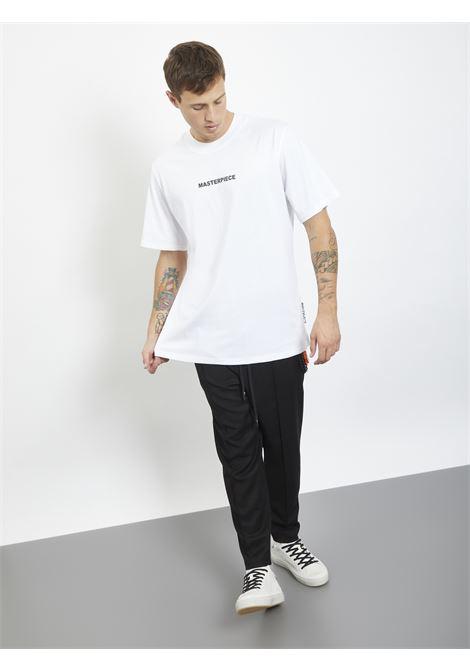 T-shirt con stampa MASTERPIECE | T-shirt | RV38220UBIANCO