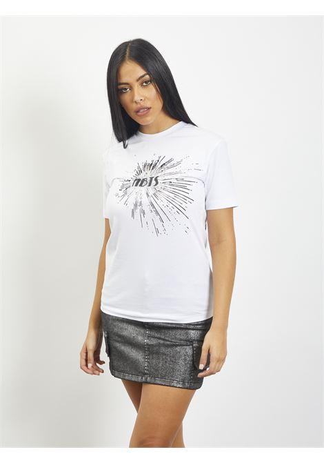 T-shirt con stampa NBTS | T-shirt | NB2021001BIANCO