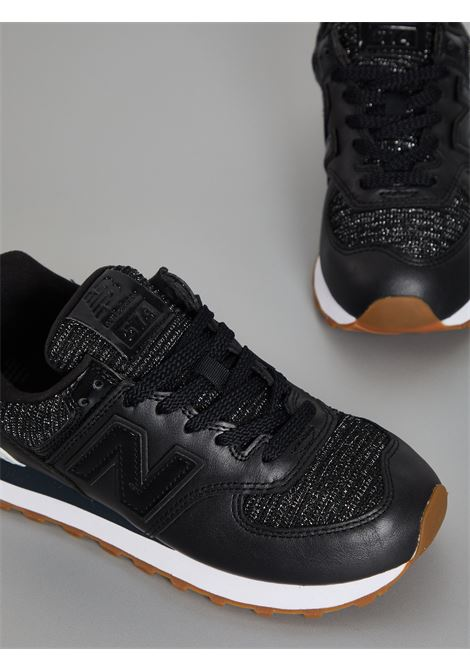 574 NEW BALANCE | Sneakers | WL574PMDNERO