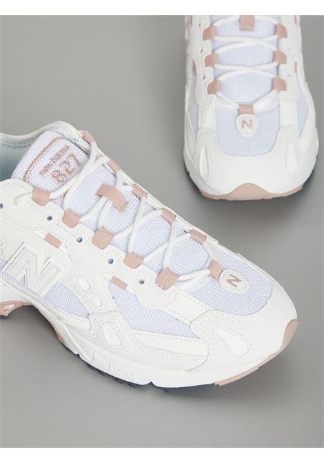 827 NEW BALANCE | Sneakers | WL827BBCBIANCO
