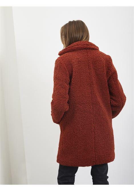Teddy Jacket NOISY MAY | Coat | 27003719RUGGINE