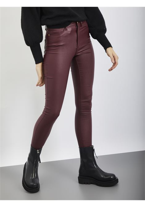 Pants NOISY MAY | Trousers | 27013113BORDEAUX