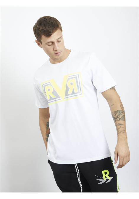 T-shirt con stampa REVER | T-shirt | RA03220UBIANCO