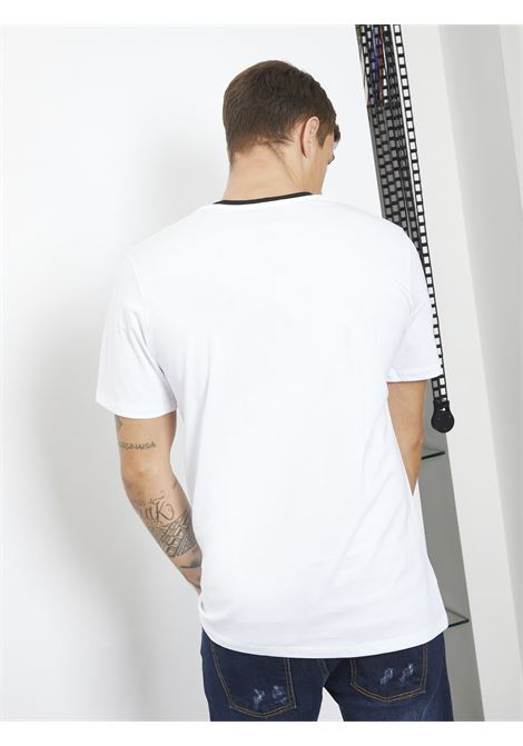 T-shirt con stampa REVER | T-shirt | RA05220UBIANCO