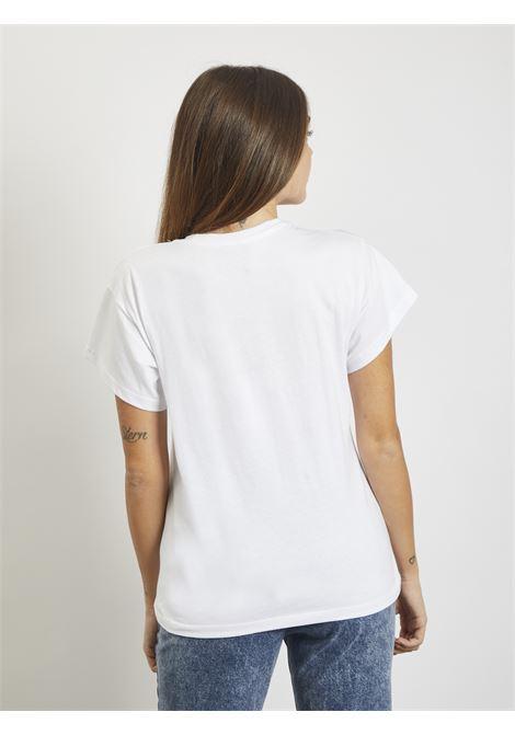 logo zebrato REVER | T-shirt | RA163220DBIANCO