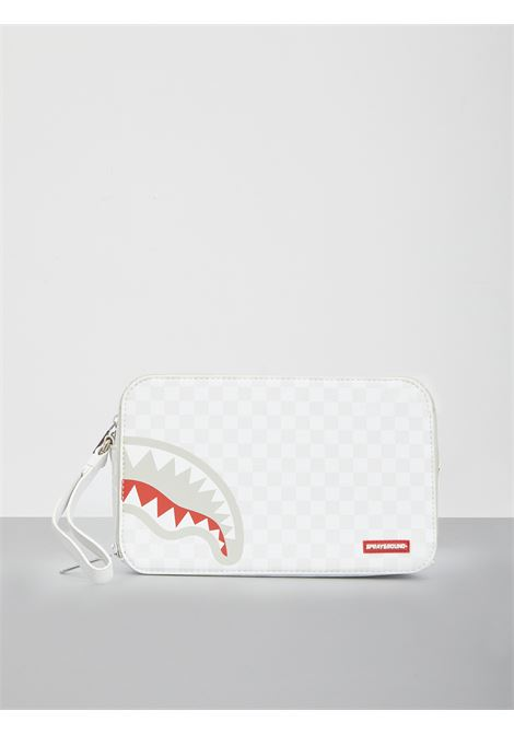 POCHETTE SHARKS IN PARIS MEAN&CLEAN SPRAYGROUND | Pochette | 910B3278NSZBIANCO