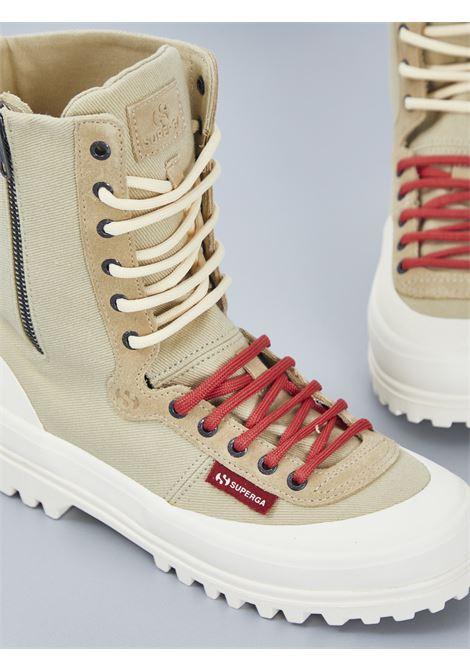 WARMCOTTONU SUPERGA PER PAURA | Sneakers | 2360-WARMCOTTONUBEIGE