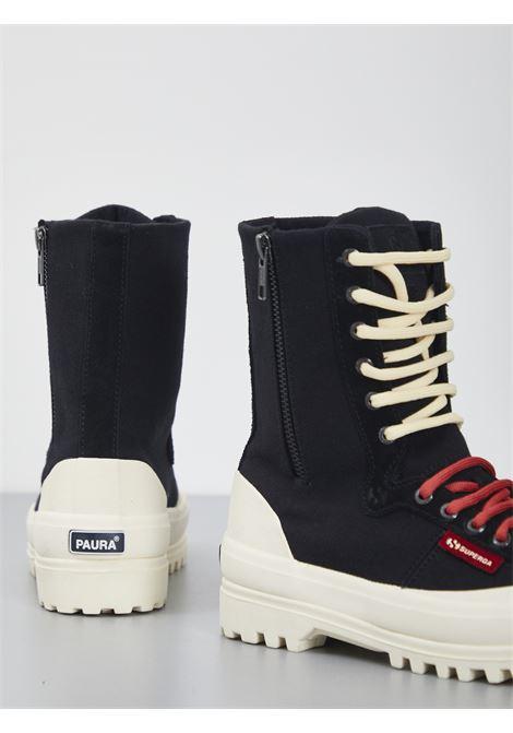 WARMCOTTONU SUPERGA PER PAURA | Sneakers | 2360-WARMCOTTONUNERO