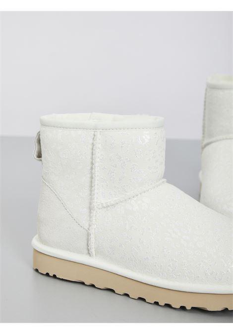 MINI CLASSIC SNOW LEOPARD UGG | Stivali | UGSCLMSNLWH1113494WBIANCO