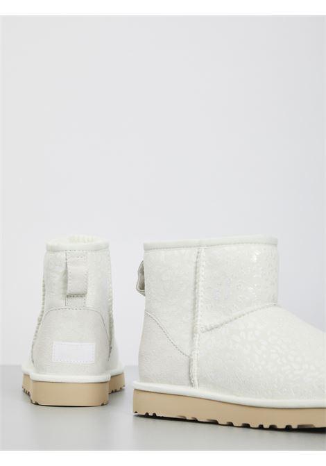 MINI CLASSIC SNOW LEOPARD UGG | Boots | UGSCLMSNLBK1113494WBIANCO