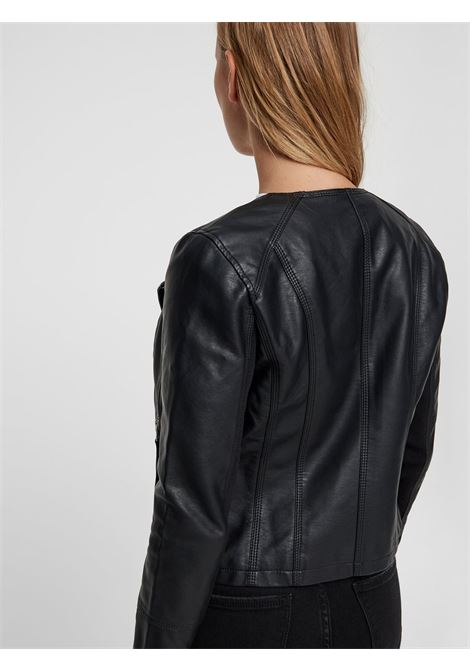 leather jacket VERO MODA | Jacket | 10211420NERO