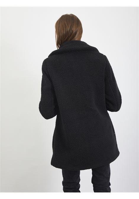 teddy coat VERO MODA | Coat | 10230914NERO