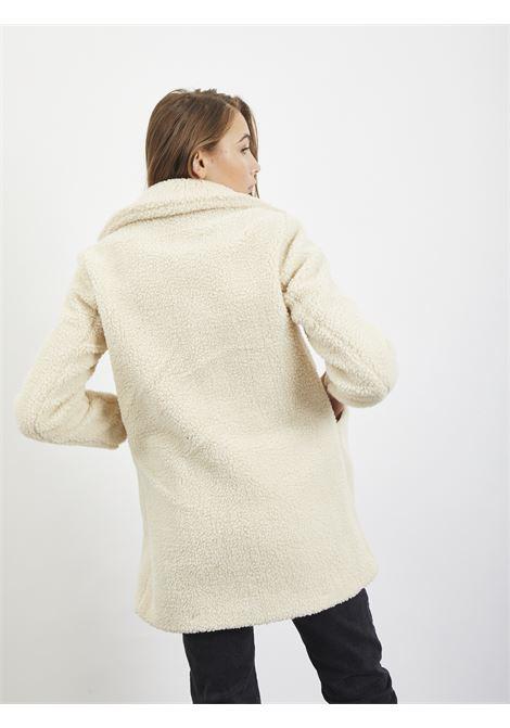 Teddy coat VERO MODA | Coat | 10230914PANNA