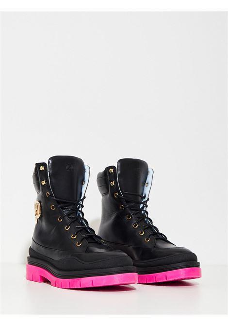 boots CHIARA FERRAGNI | Combat Boot | CF2869-001NERO