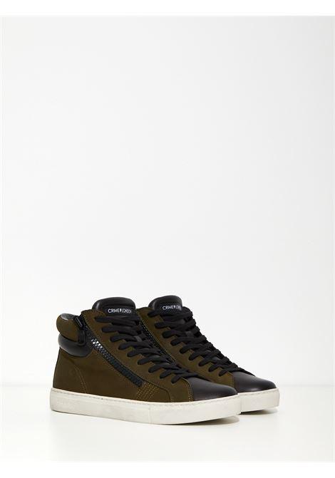 High top double zip CRIME | Sneakers | 10766AA4VERDE