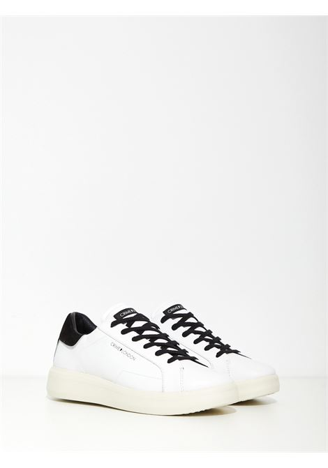 low top level up CRIME | Sneakers | 10801BIANCO