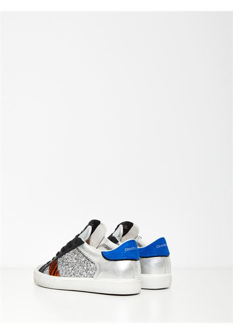 LOW TOP DISTRESSED CRIME | Sneakers | 24337ARGENTO