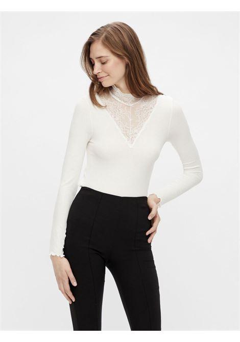 High Neck PIECES | Shirts | 17106209BIANCO